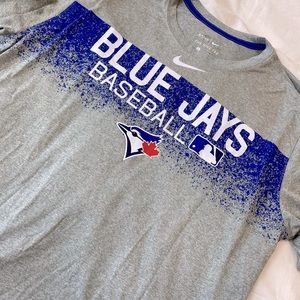 Nike Blue Jays Dri-Fit Short Sleeve - Sz XL